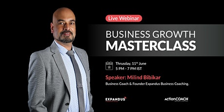 Business Growth Masterclass For  SME Business Owners in Kolhapur tickets