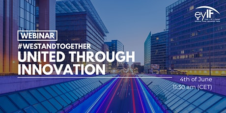 #WeStandTogether: United through innovation tickets