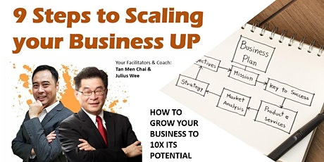 9 Steps to Scaling Your Business UP tickets