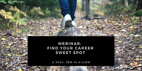 How to identify your career sweet spot tickets