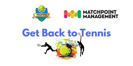 Get Back to Tennis - Beauchief Tennis Club Coaching tickets