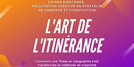 """Conférence """"L'Art de l'Itinérance"""" pour découvrir la méthode biglietti"""