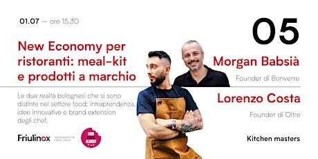 New Economy per ristoranti: meal-kit e prodotti a marchio biglietti