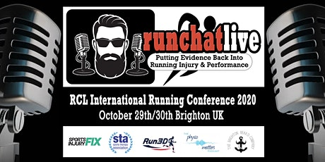 RCL International Running Conference 2020 tickets