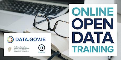 ONLINE Ireland Open Data Initiative - Introduction to Open Data (June 2020) tickets