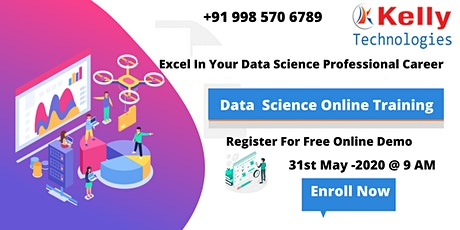Register Now Exclusive Data Science Free Online Interactive Demo Session tickets