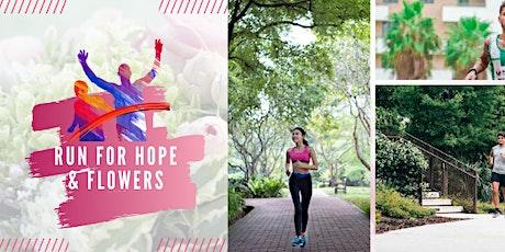 Run for Hope & Flowers Virtual Race 5K/10K/13.1 tickets