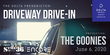 The Delta Driveway Drive-In |SATURDAY JUNE 6 | The Goonies tickets
