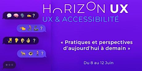 #HorizonUX : Accessibilité & UX Design billets