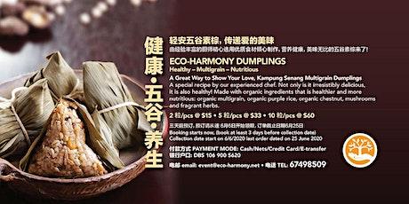 ECO-HARMONY HEALTHY ORGANIC VEGAN DUMPLINGS tickets