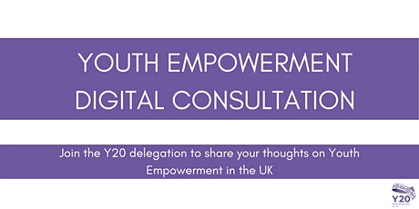 Y20 Youth Empowerment Digital Consultations - Leadership (1) tickets