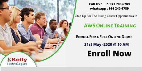 Enroll for AWS Free Interactive Online Demo Session on 31st May,10 AM (IST) tickets