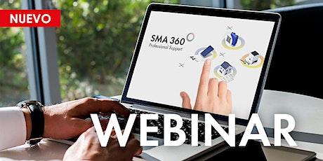 Webinar:  Nueva SMA APP 360º entradas