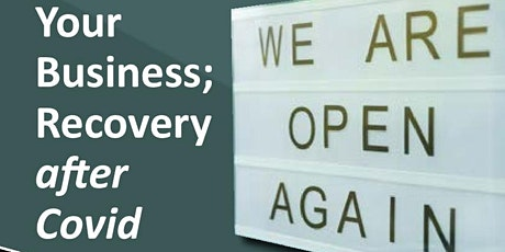Business Recovery & Adapation:2 sessions Wed 10th June & Friday12th June tickets