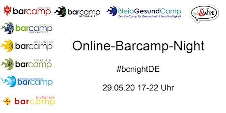 Das erste barcampübergreifende Barcamp - die Barcamp Night DE #bcnightDE Tickets