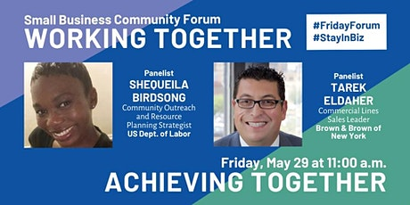 Friday Forum for Small Business Owners and Entrepreneurs tickets
