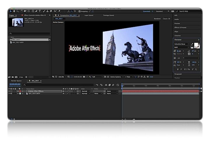 Adobe After Effects Basic Training image