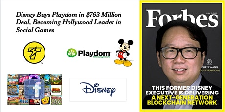 AMA: How to build and sell a £500m company to Disney w/ Chris Wang tickets