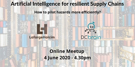 Meetup: Artificial Intelligence for resilient Supply Chains tickets
