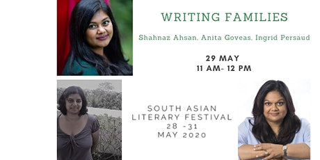 South Asian Literary Festival: WRITING FAMILIES tickets