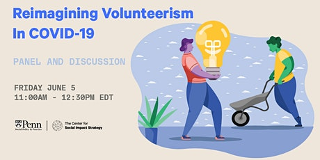 POSTPONED // Reimagining Volunteerism in COVID-19: Panel and Discussion tickets