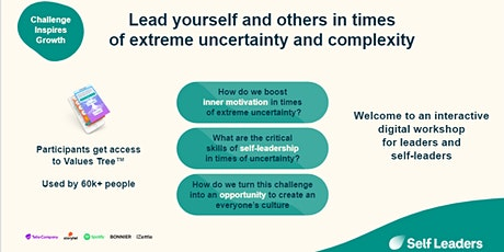 Lead yourself and others in times of extreme uncertainty and complexity tickets