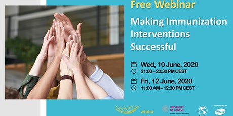 Making Immunization Interventions Successful tickets