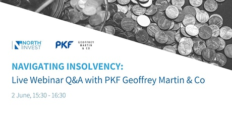 Insolvency: Live  Webinar and Q&A with Geoffrey Martin & Co tickets
