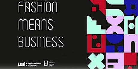 LCF Fashion Means Business: Flora Davidson (Supply Compass) Talk tickets