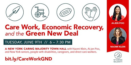 Care Work, Economic Recovery, & the Green New Deal tickets