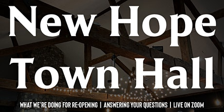 New Hope Town Hall Meeting tickets