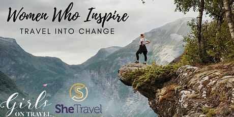 Women Who Inspire: Travel into Change tickets
