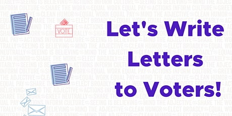 Elect Broadly Virtual Letter-Writing Party #1! tickets
