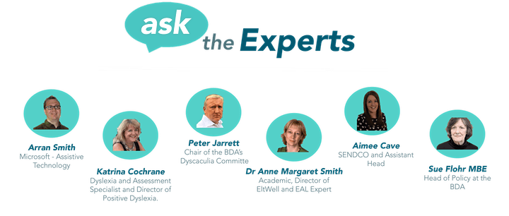 Free : Ask the Expert Education Panel Q and A ! image