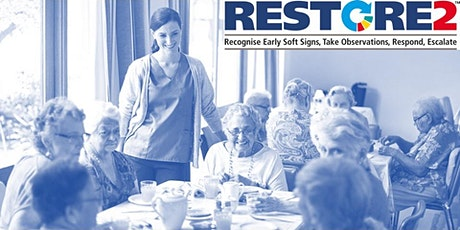 RESTORE2 Full virtual training for care staff in the Community tickets