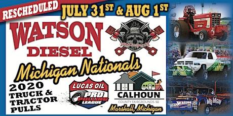 Rescheduled July 31 & August 1, 2020 Watson Diesel Michigan Nationals tickets