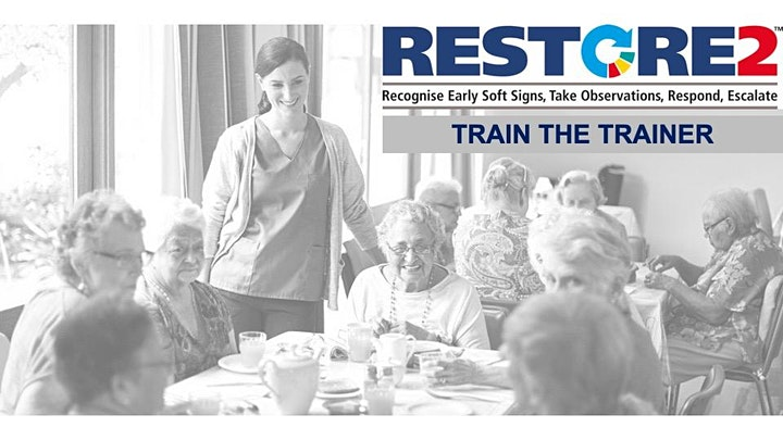 RESTORE2 Full virtual training for care staff in the Community image