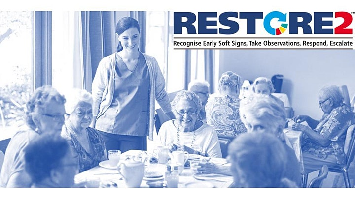 RESTORE2 Train the Trainer virtual training for care staff in the Community image