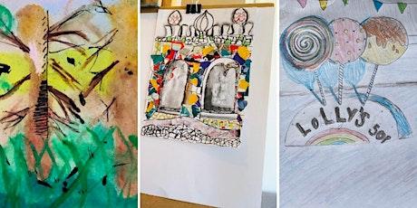 Online Kids Art Classes from The Wee Art Studio tickets