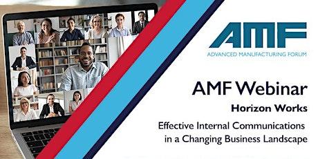 AMF Webinar - Internal Communications tickets