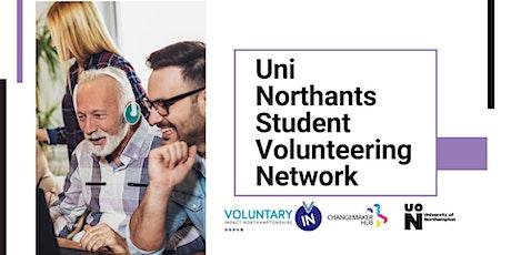 Uni Northants Student Volunteering Network Online Meeting tickets