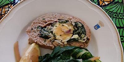 Online Cooking: Polpettone aka Sicilian Meatloaf