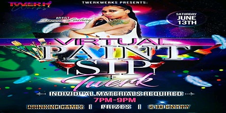 Virtual Paint N Sip + Twerk tickets