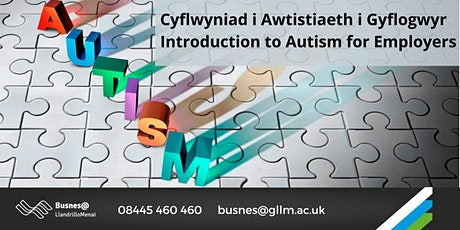Cyflwyniad i Awtistiaeth i Gyflogwyr / Introduction to Autism for Employers tickets
