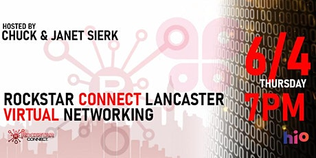 Free Rockstar Connect Lancaster Networking Event (June, Lancaster) tickets