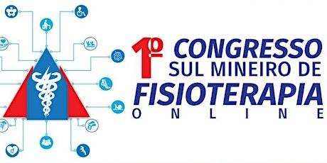 I Congresso Sul Mineiro de Fisioterapia Online ingressos