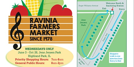 The 42nd Annual Ravinia Famers Market tickets
