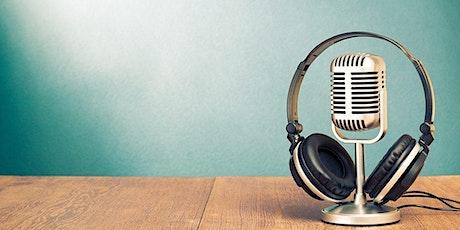 Podcasting Masterclass tickets