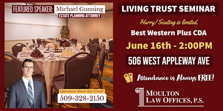 LIVING TRUST SEMINAR tickets