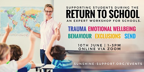 Returning to School + Supporting Students tickets